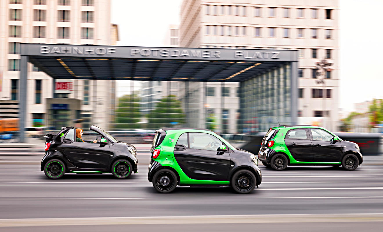 Smart Electric Drive. Foto: Daimler