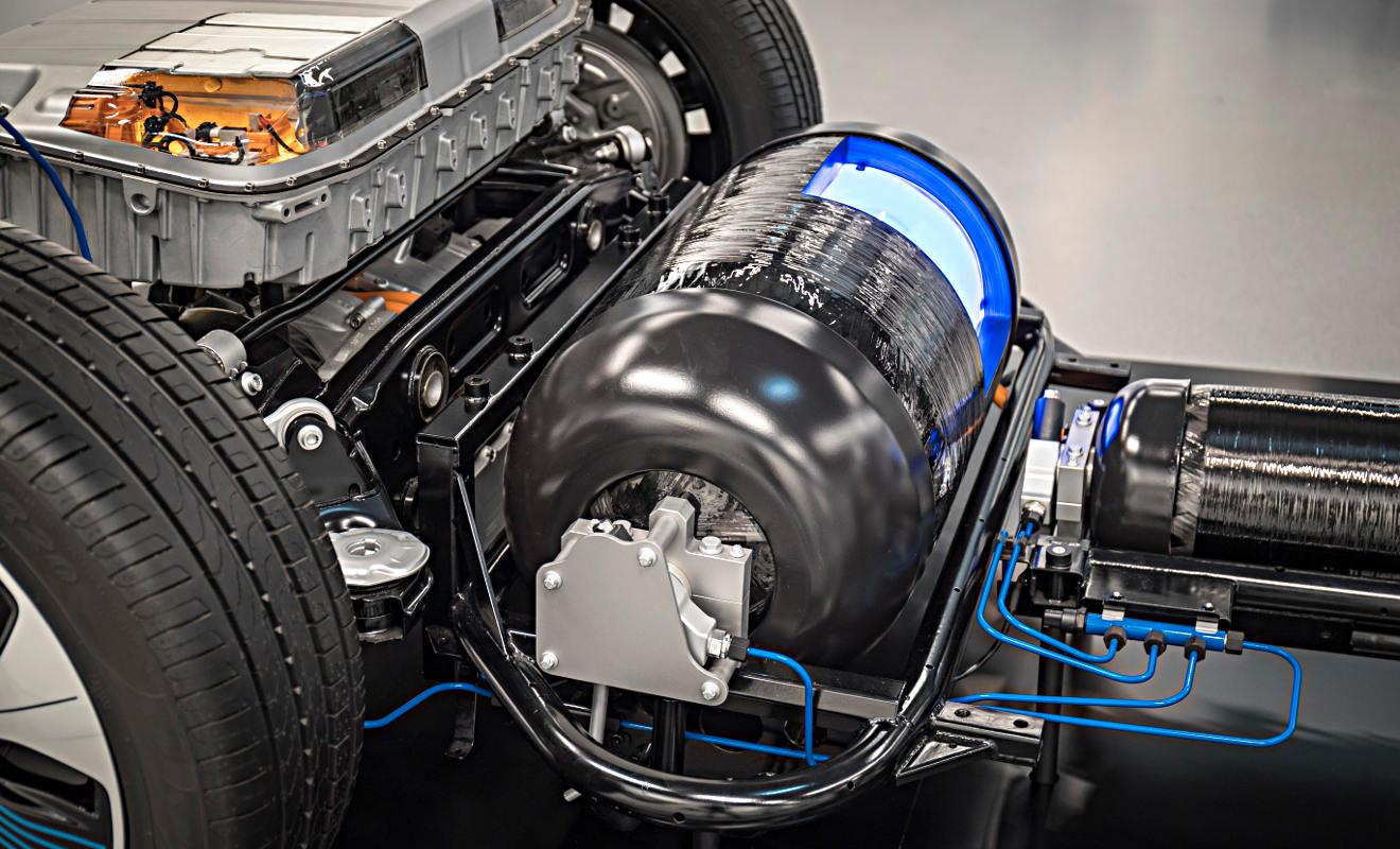 Mercedes GLC F-Cell. Foto: Daimler