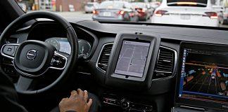 Autonomer Volvo von Uber. Foto: dpa