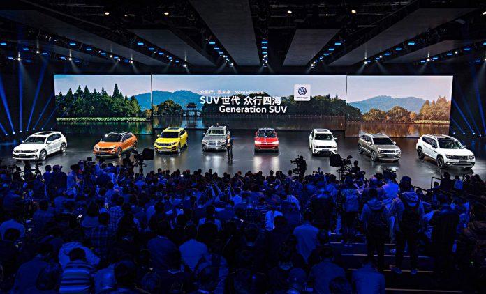 VW und SUVs, Foto; VW