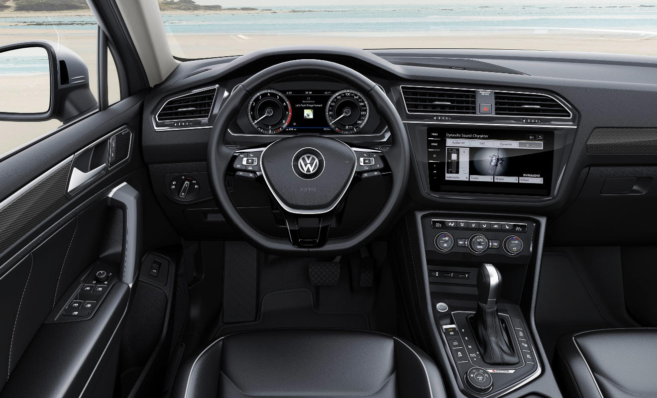 VW Tiguan Allspace. Foto: VW