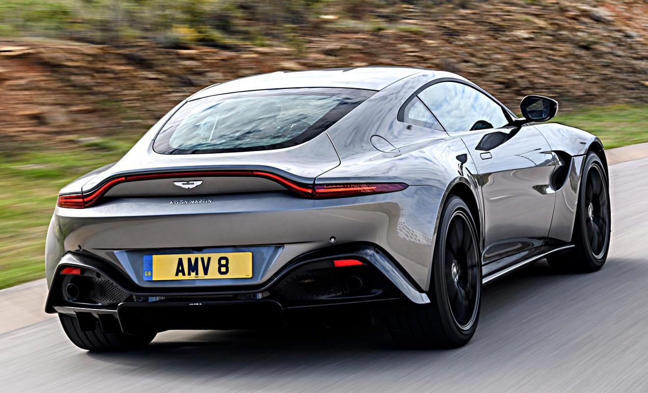 Aston Martin. Foto: Drew Gibson