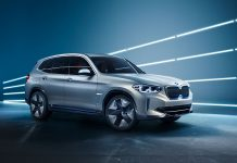 Der BMW iX3. Foto: BMW