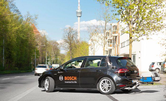 Bosch beim RDE-Zyklus. Foto: Bosch