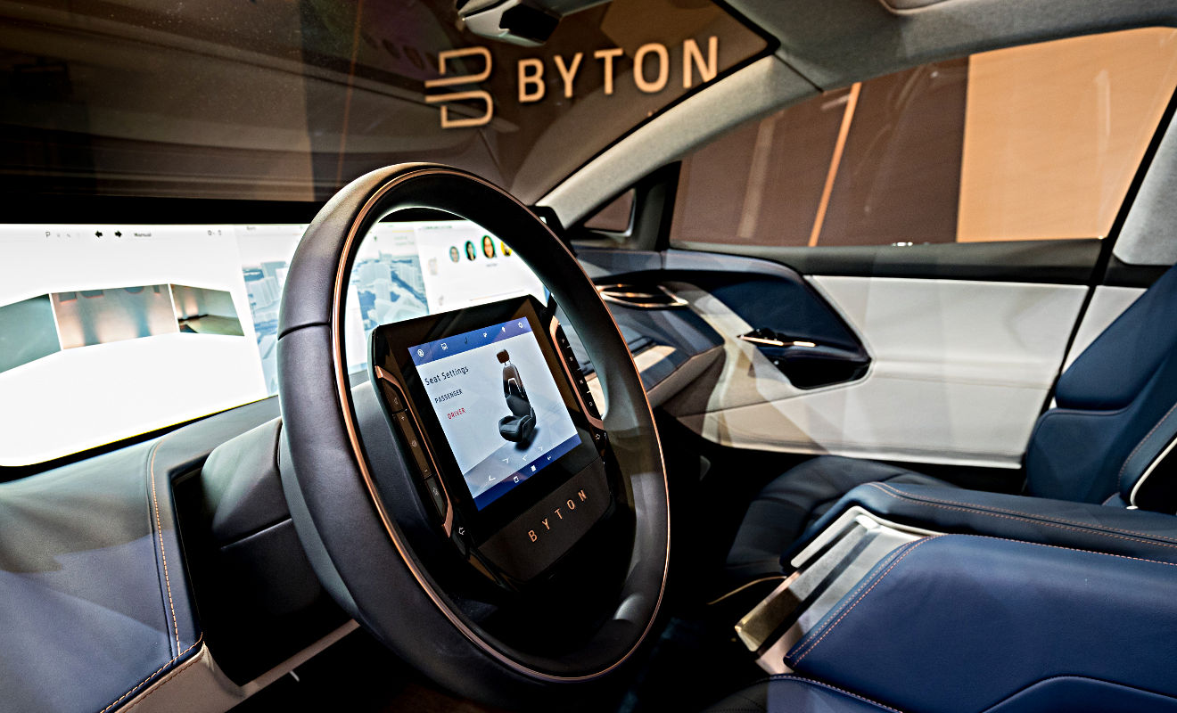 Byton Concept. Foto: Byton
