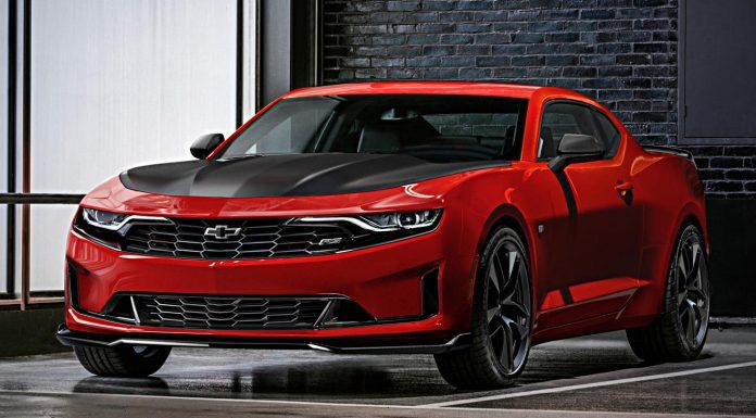 facelift für den Camaro. Foto: Chevrolet