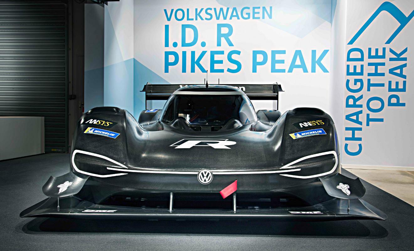 VW I.D. R Pikes Peak. Foto: VW