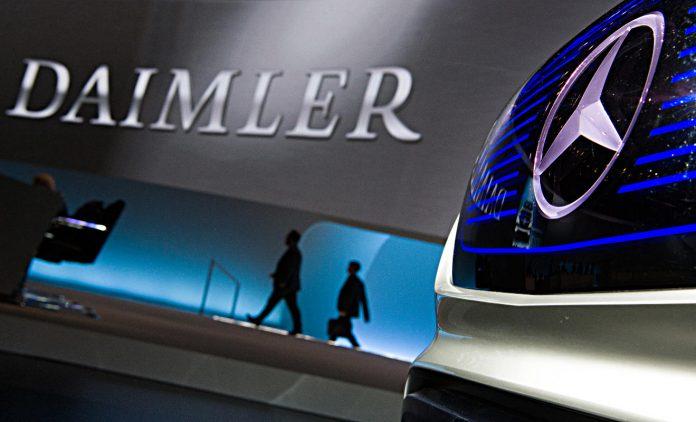 Daimler-Hauptversammlung in Berlin. Foto: dpa