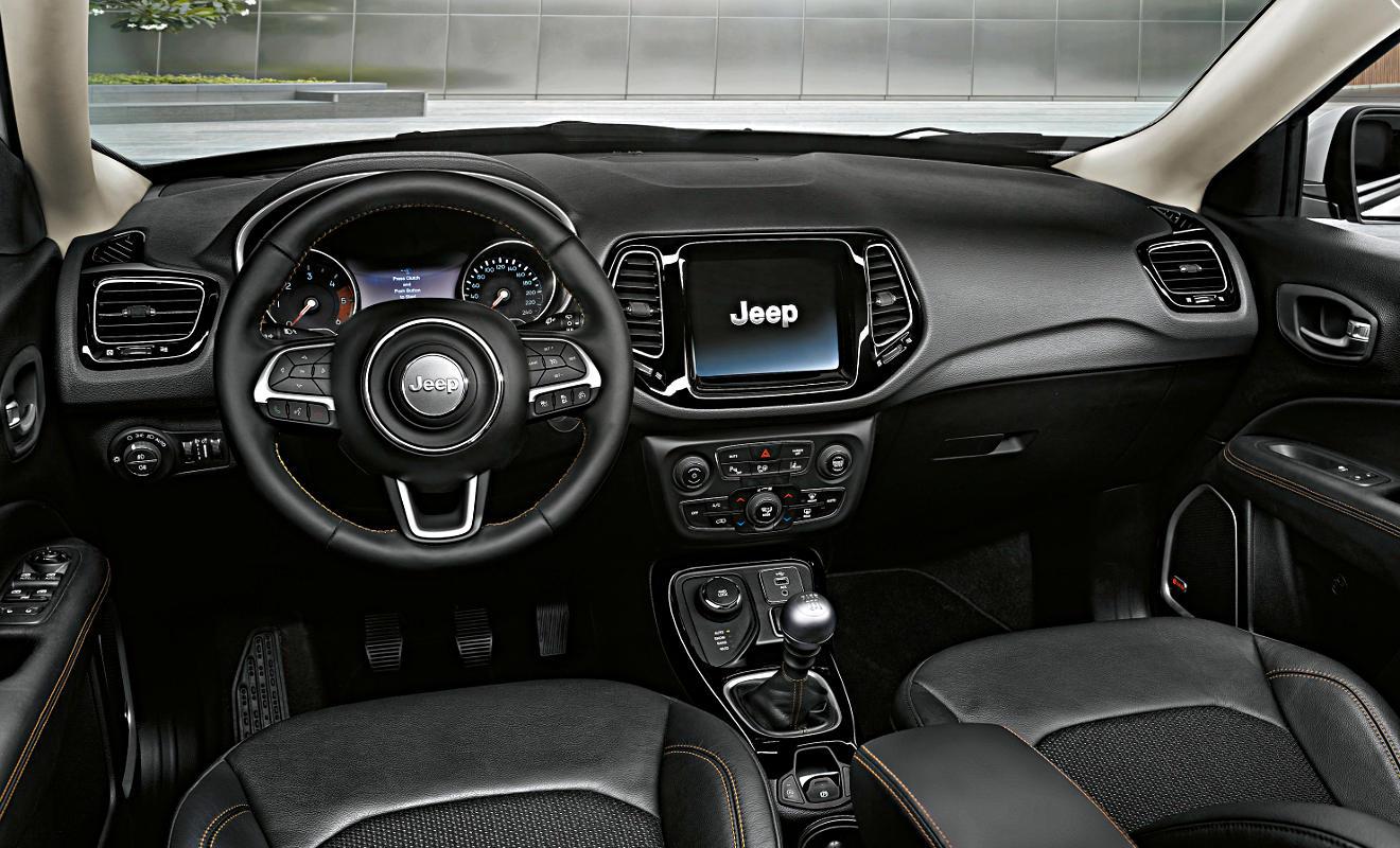 Jeep Compass Innenraum. Foto: Jeep