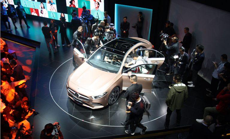 Mercedes A-Klasse für China