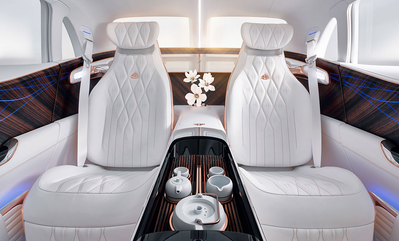 Der Innenraum des Ultimate Luxury. Foto: Daimler