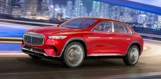 Der Mercedes-Maybach Ultimate Luxury. Foto: Daimler