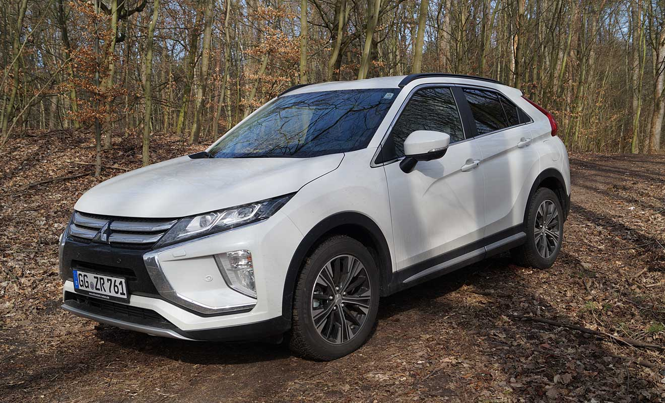 mitsubishi eclipse cross 1 5 turbo streicheleinheiten mit der fu spitze. Black Bedroom Furniture Sets. Home Design Ideas