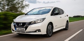 Der neue Nissan Leaf. Foto: NIssan