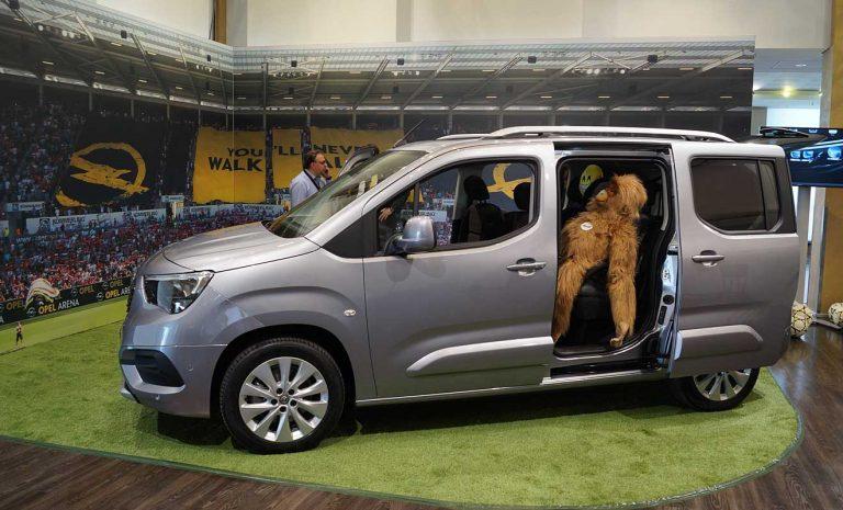 Opel Combo: Der kleine Mannschaftsbus