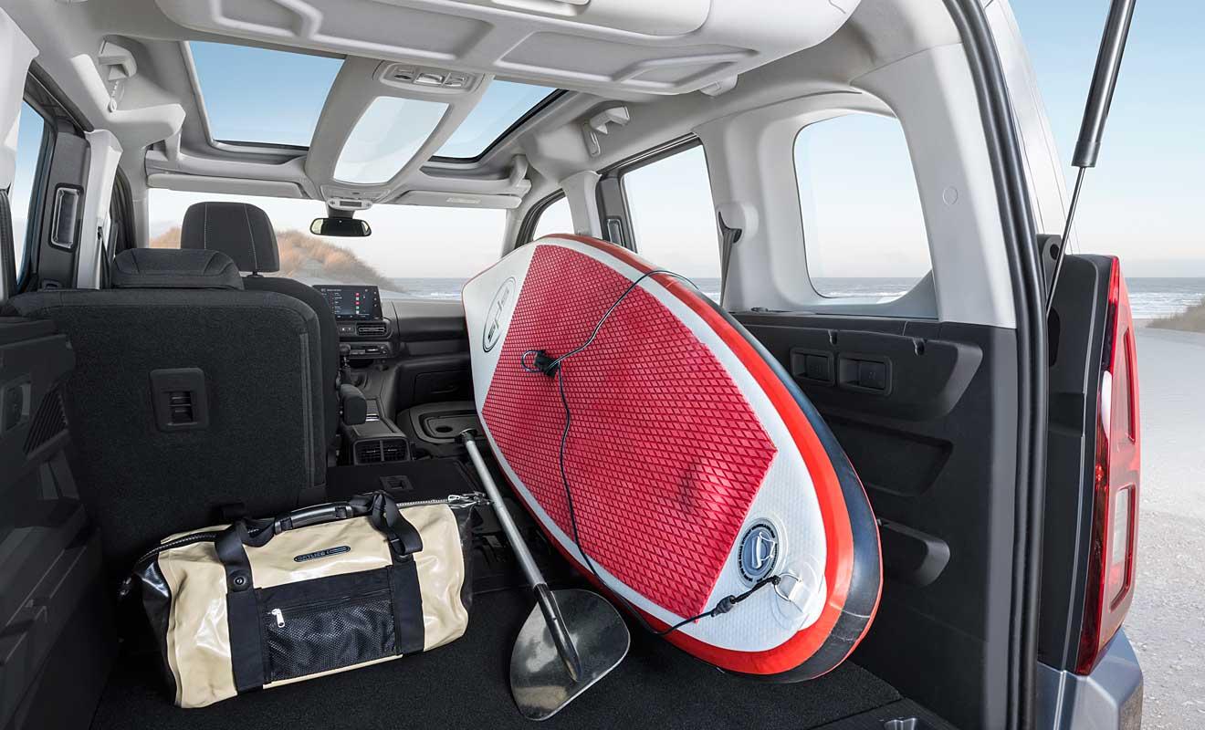 Der Innenraum des Combo. Foto: Opel