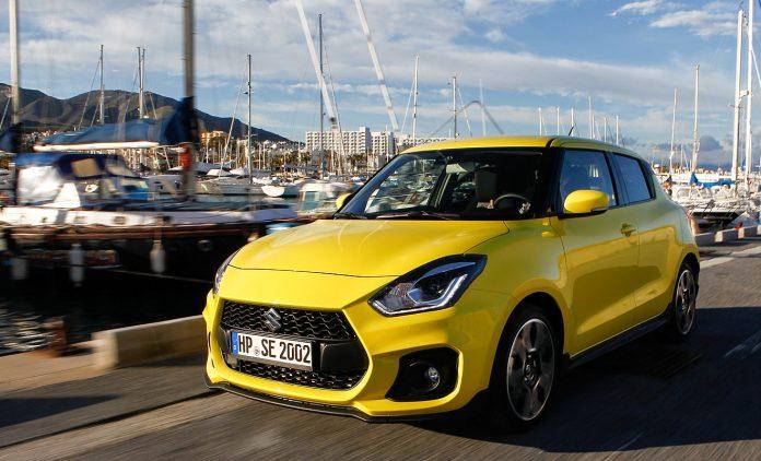 Der neue Swift Sport. Foto: Suzuki