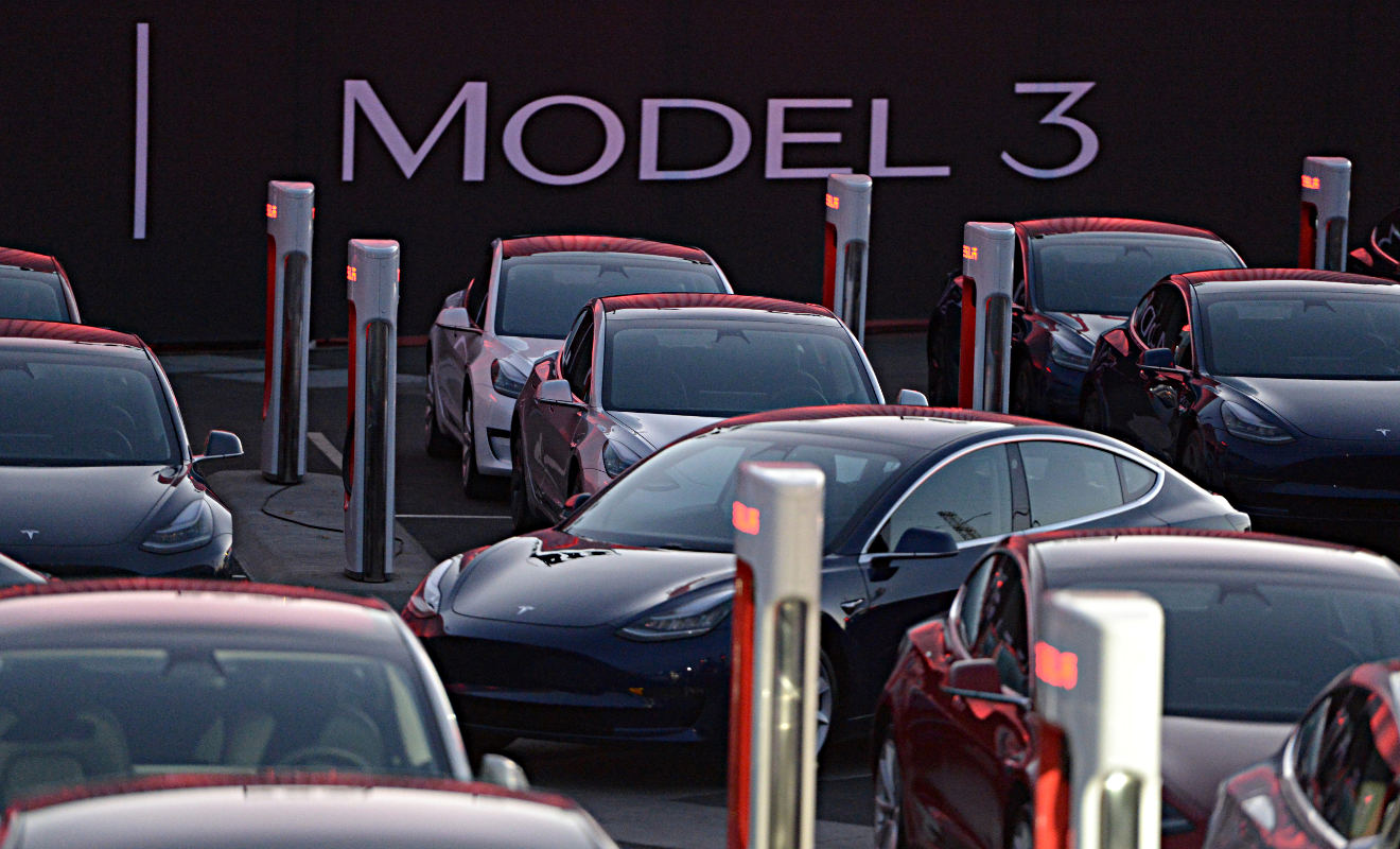 Tesla Model 3. Foto: dpa