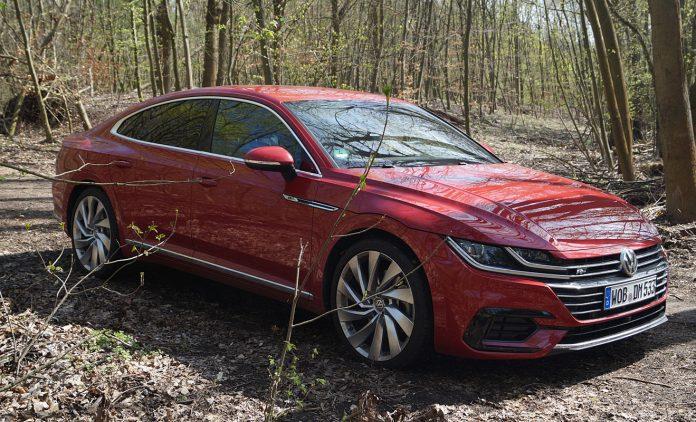 Der VW Arteon. Foto: AG/Flehmer