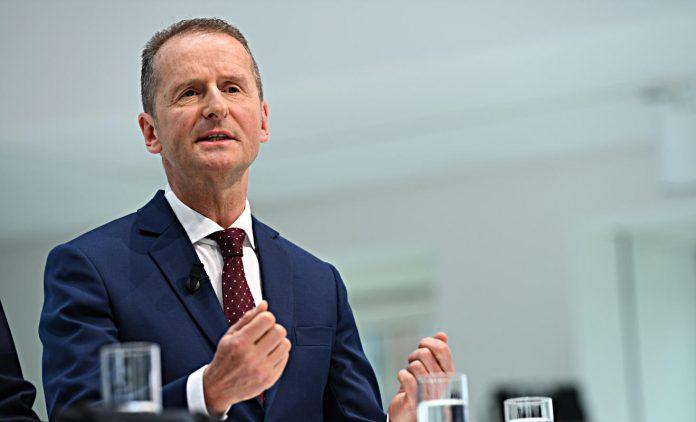 Herbert Diess. Foto: dpa