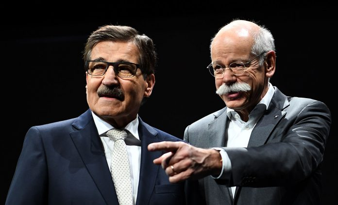 Dieter Zetsche und Manfred Bischoff. Foto: dpa