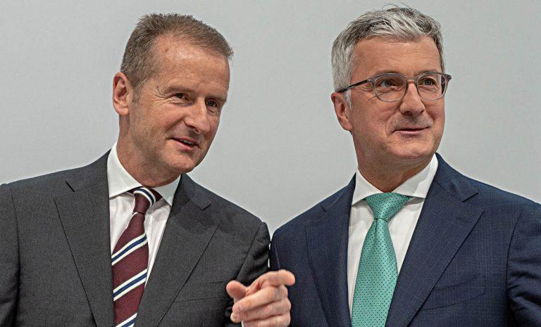 Audi-Chef Stadler räumt im Abgasskandal schwere Fehler ein