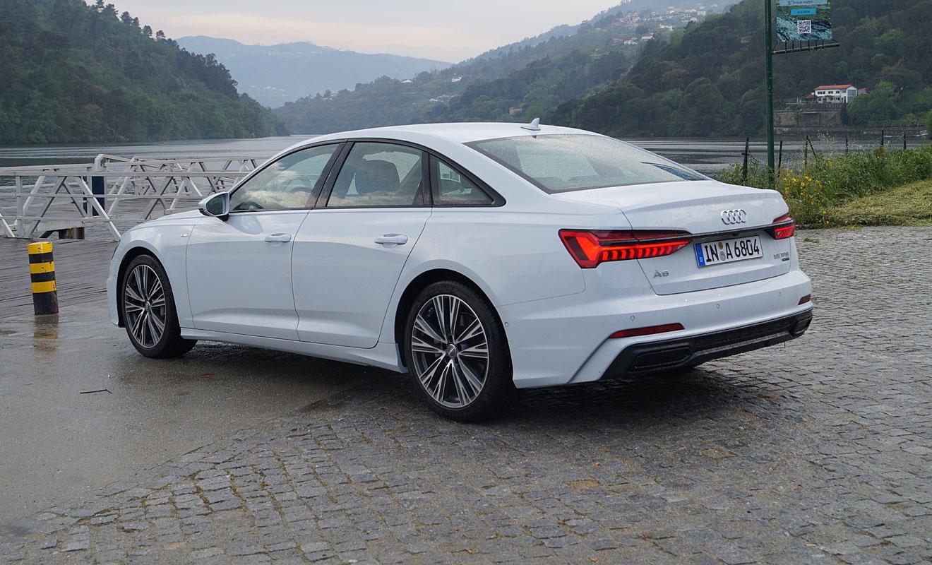 Das Heck des Audi A6. Foto: AG/Flehmer