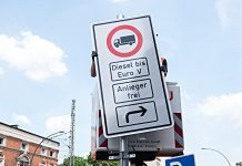 Dieselverbot in Hamburg. Foto: dpa
