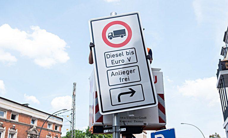 Hamburg drohen weitere Diesel-Fahrverbote