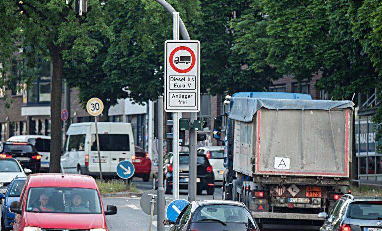 Stickoxid-Belastung: Luft in Städten wird besser