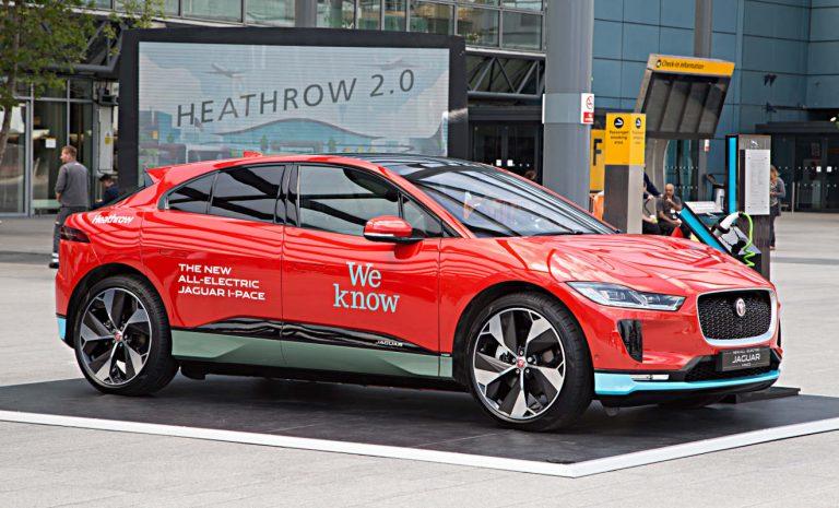 Airport London-Heathrow setzt Jaguar I-Pace ein