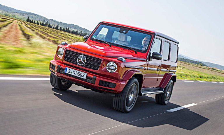 Mercedes G-Klasse: Einzug der Moderne