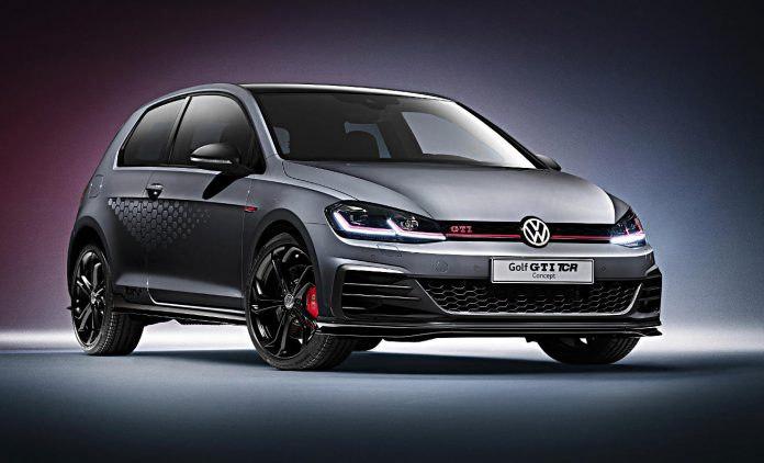 vw golf gti tcr dem motorsport verpflichtet. Black Bedroom Furniture Sets. Home Design Ideas