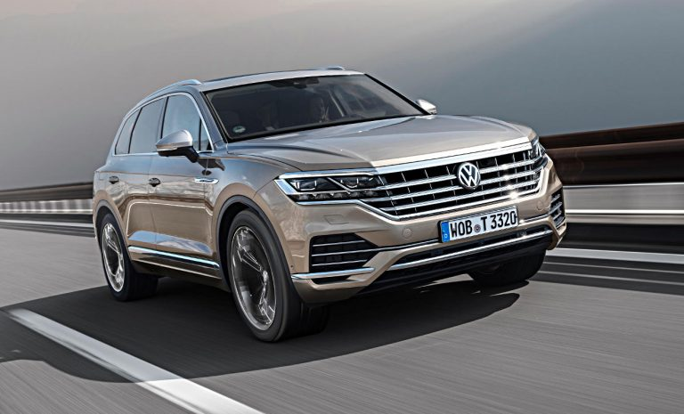 VW Touareg: Auf dem Weg zum Klassenprimus
