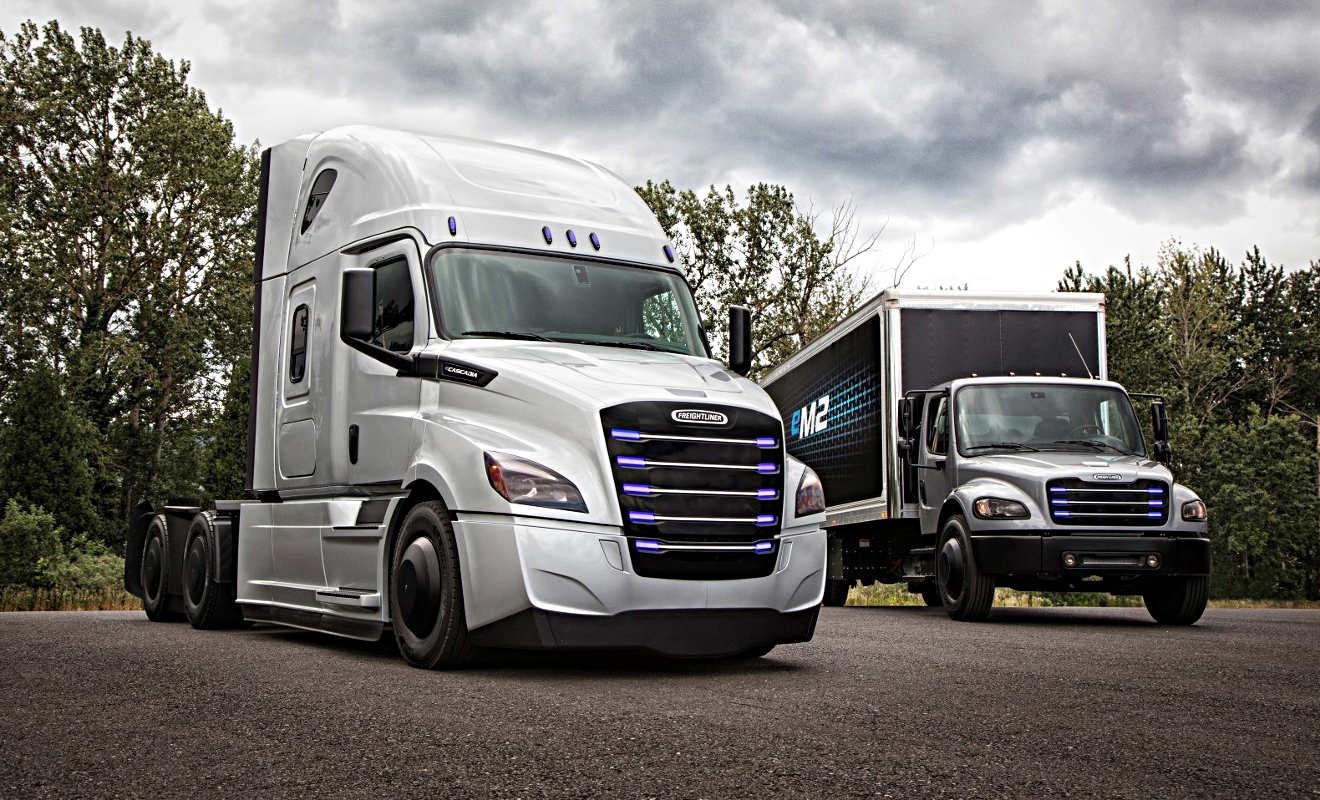 Mercedes Benz Portland >> Daimler bringt in USA Elektro-Lkw auf den Markt - Autogazette.de