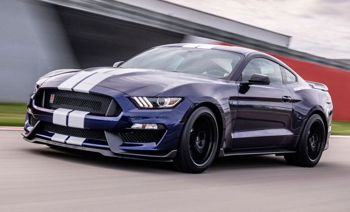 Der Mustang Shelby GT350. Foto: Ford