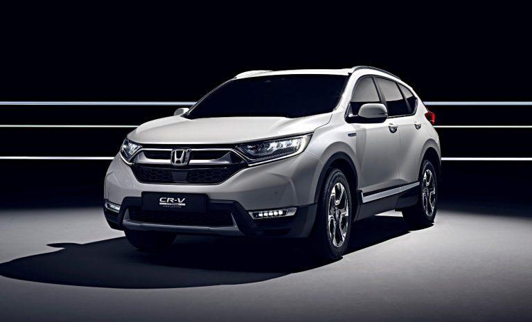 Honda kommt mit Hybridversion vom CR-V
