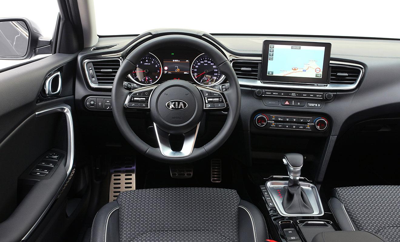 Das Cockpit des Kia Ceed. Foto: Kia
