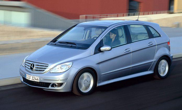 Die Mercedes B-Klasse. Foto: Mercedes