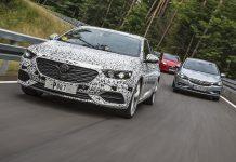 Opel auf Abnahmefahrt. Foto: OPel