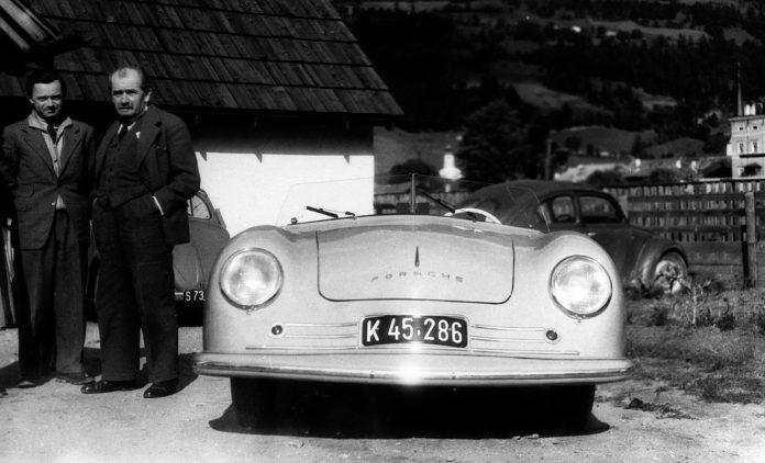 Der erste Porsche von 1948. Foto: Porsche
