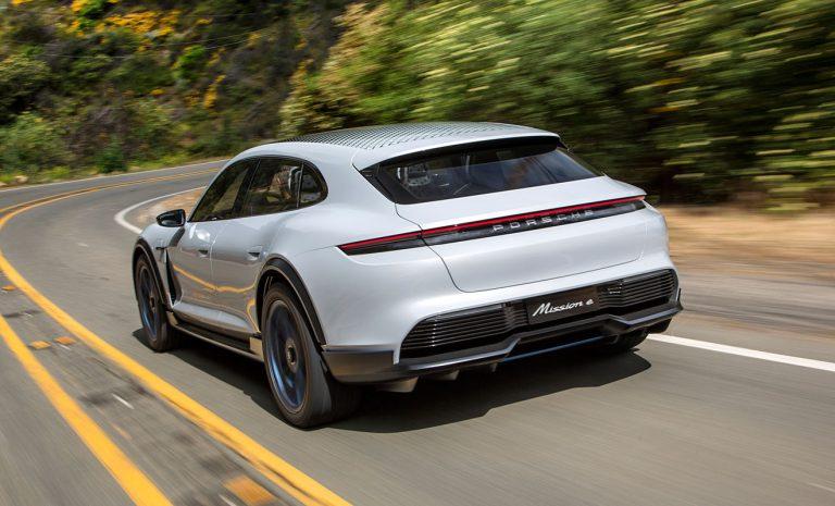 Porsche Mission E Cross Turismo: Elektrischer Vorbote