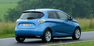 DAs Heck des Zoe. Foto: Renault