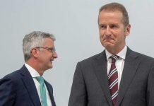 Rupert Stadler und Herbert Diess. Foto: dpa