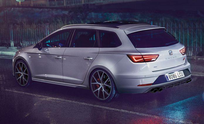 Die Seat Leon ST Cupra Carbon Edition