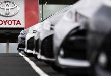 Neuwagen von Toyota. Foto: dpa