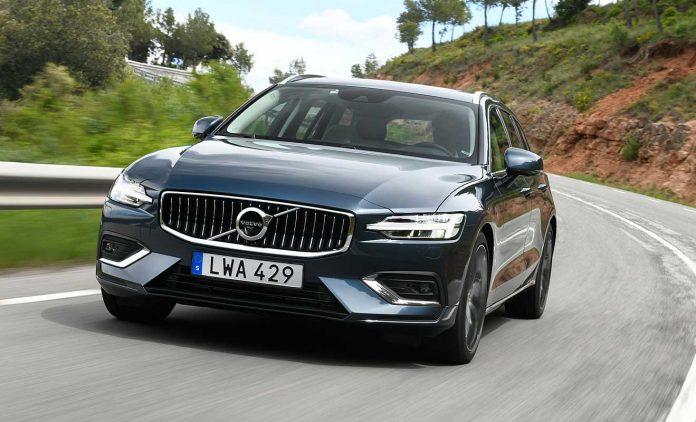 Der neue Volvo V60. Foto: Volvo