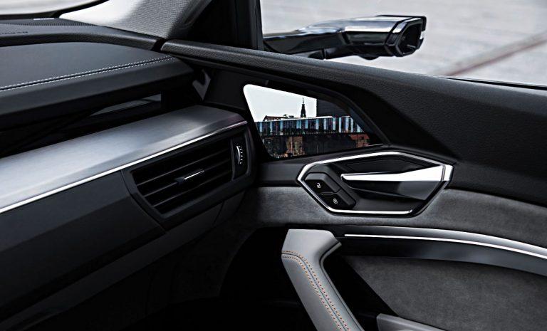 Kameras statt Spiegel beim Audi e-tron