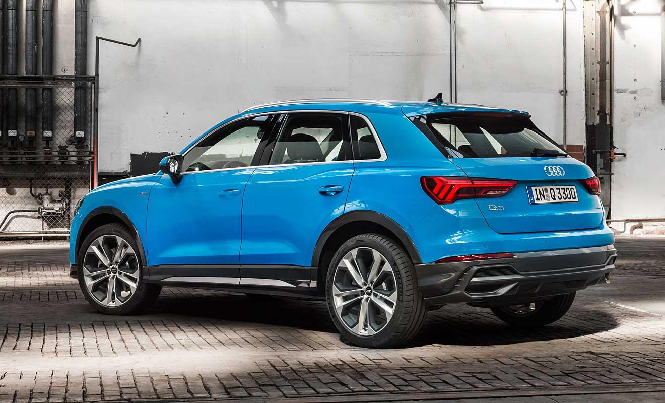 Das Heck des Q3. Foto: Audi