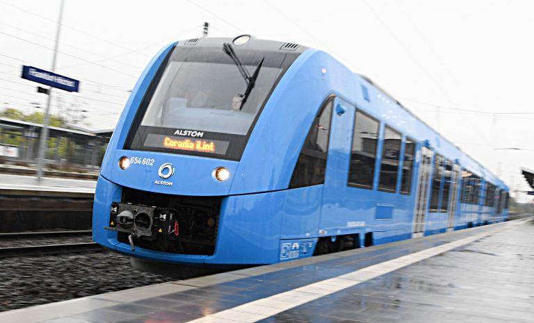 Wasserstoffzüge lösen in Niedersachsen Diesel-Loks ab
